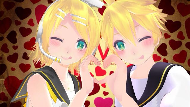 Rin and Len Kagamine love   #anime #animegirl #animeboy #vocaloid