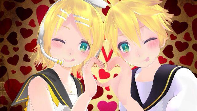 Rin and Len Kagamine love   #anime #animegirl #animeboy #vocaloid