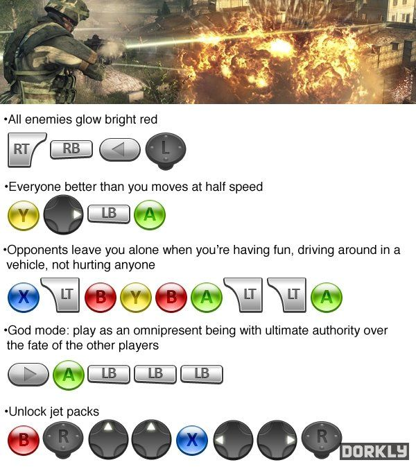 Xbox Cheat Codes Cheat Codes I Wish Existed GAMES