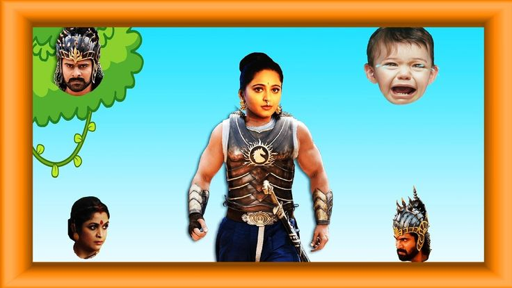 Bahubali Wrong Heads Finger Family | Baahubali Family Wrong Body Song | ...