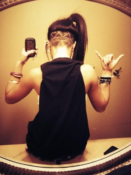 I kinda think this is awesome.. I wanna do it! business in the front, party in the bak! haha