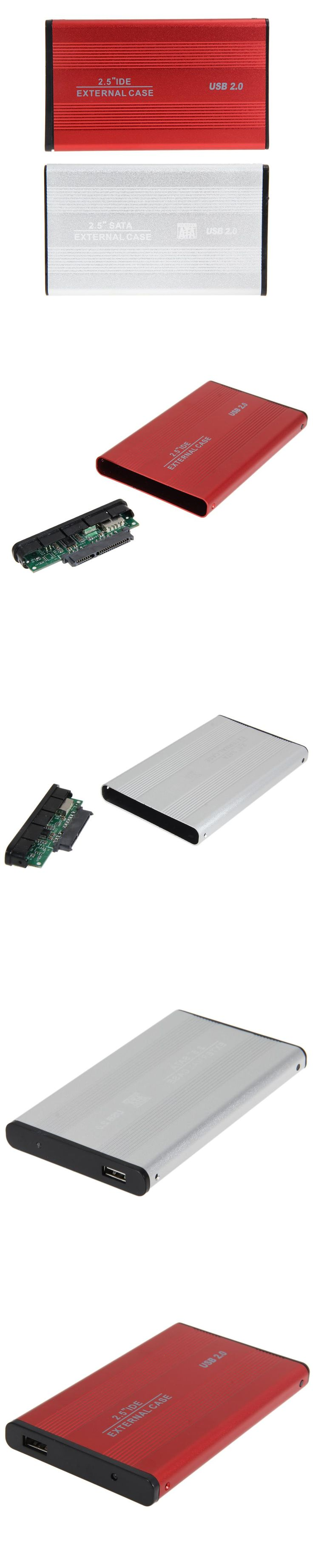 USB 2.0 2.5 inch SATA External Case HDD Enclosure 2.5 inch Hard Driver Enlosure for PC Laptop Hard Disk