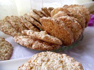 Кулинарные рецепты от Лики: Кокосово-овсяные хрустики (утилизация белков)