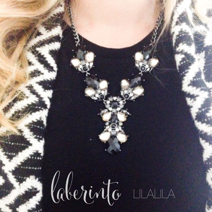 Laberinto by LILALILA  statement jewelry