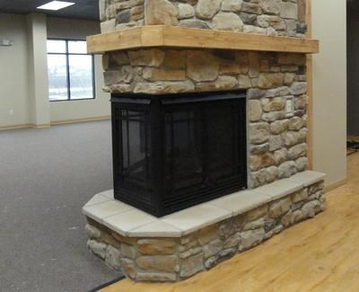 Kozy Heat Pier Gas Fireplace Dutch Quality Tuscan Ridge