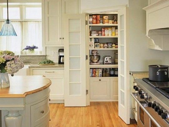 IKEA Kitchen pantry cabinets