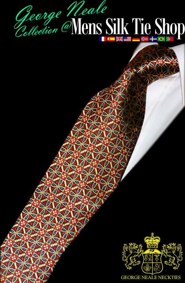 exclusive tie . best silk ties in the world . the most beautiful ties for men