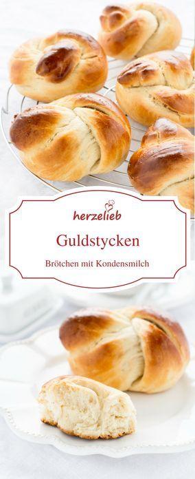 Leckere Brötchen - Guldstycken mit Kondensmilch. Rezept von herzelieb Brot, Brötchen, Sonntag, Ostern, backen