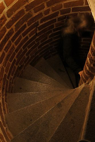 Sprial stairs, Malbork Castle, Poland | A Journey Through Medieval Life