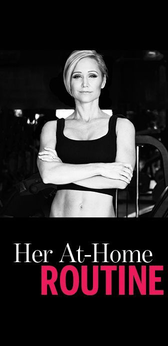Jamie Eason at-home workout