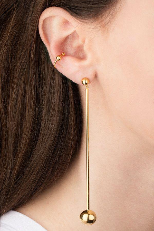 Maria Black Jewellery - LABRET MULTI CUFF - SILVER