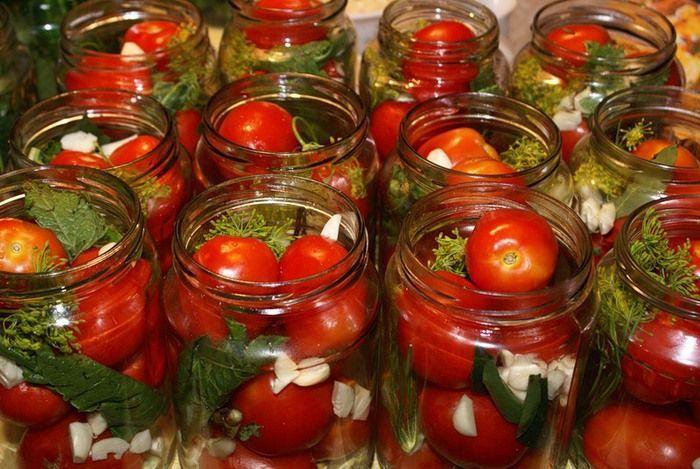 Рецепт консервированных помидор на зиму!