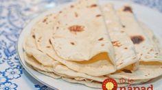 Domáce tortilly jemné ako pavučinka!