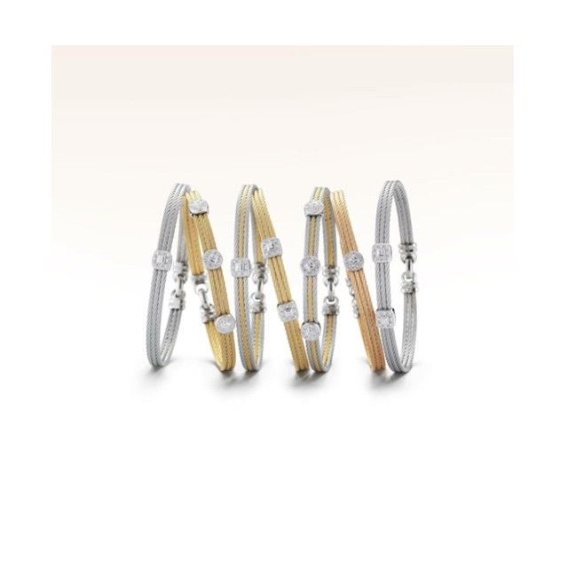 Celebrate Mom with one or many- ALOR stackable bangles make perfect gifts for Mother's Day!