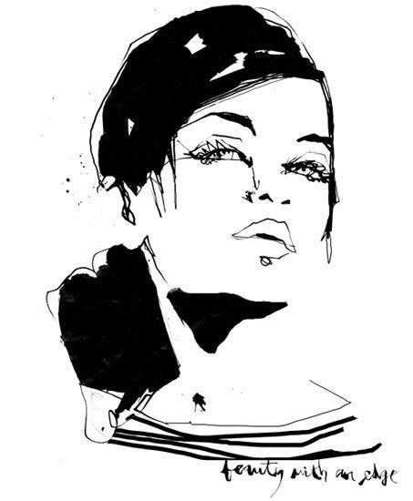 Stina Persson - fashion illustrator
