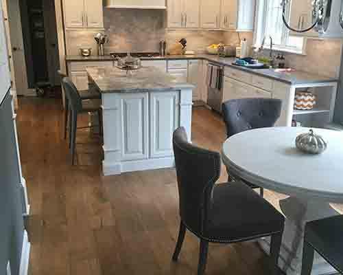 Ventura, Sandal Oak Living Room Install Saratoga Springs, NY