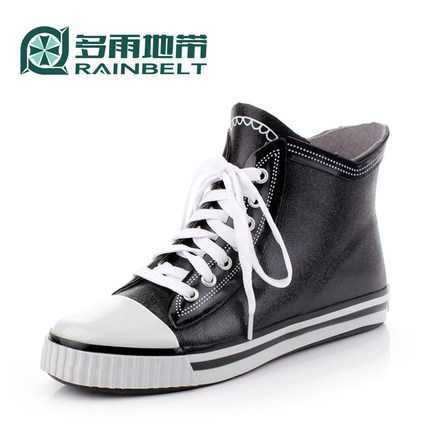 2017 Spring New Style Casual Boots for Men High Quality PVC Waterproof Male Rain Boot Shoes Botas De Homme S3307