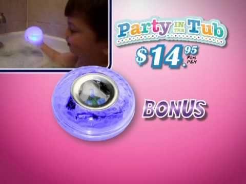 Çocuklar Banyo Eğlence Işığı - Party In The Tub 27,75 TL eMc Teknoloji'den