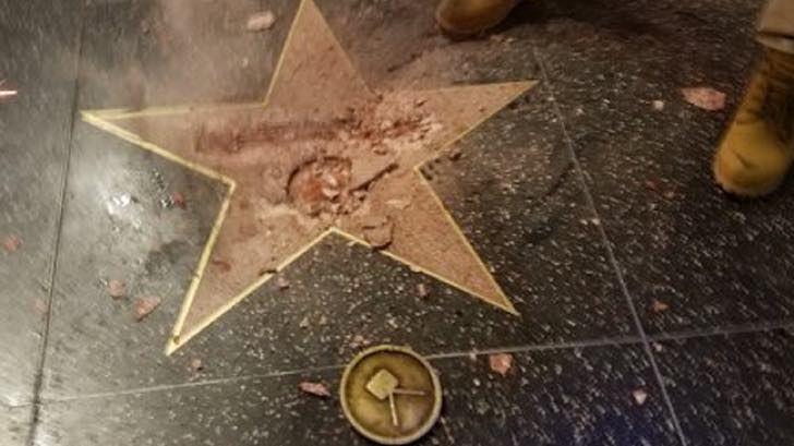 Tras tantos ataques (y caca de perro) al fin alguien dio el martillazo final a la estrella de Trump
