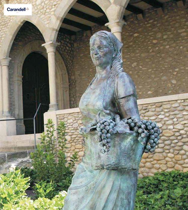 Vendimiadora #escultura #CarandellArt #vendimiadora #vino