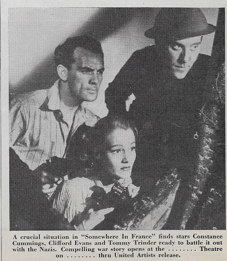 Constance Cummings, Clifford Evans, and Tommy Trinder in The Foreman Went to France (1942)