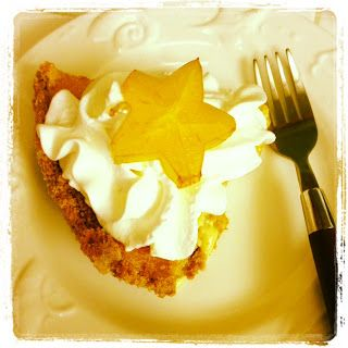 Gloucester Gourmet: Star Fruit Pie (I'll tru this with a coconut flour-gluten free crust. May need to add something sweet to the star fruit, maybe a little coconut sugar, and use coconut whipped cream)