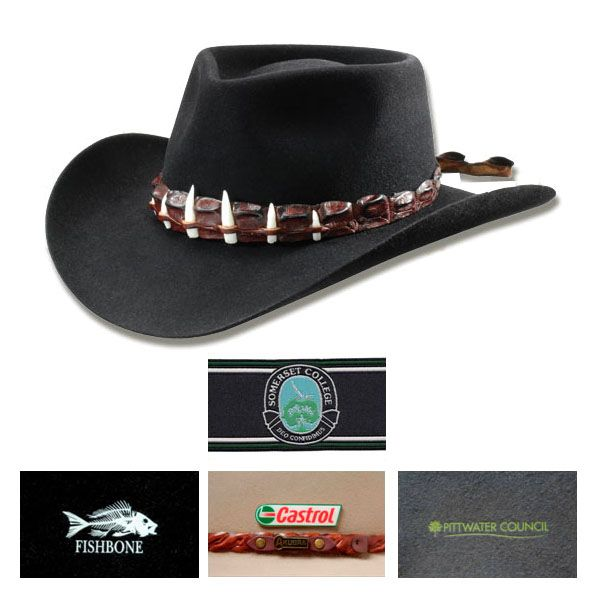Want to promote your business? Advertise your brand effectively and accurately with custom printed promotional Croc Akubra Hat. For more details, vividpromotions.com.au #TheCrocAkubraHat #AkubraHats #akubrahatsonline #australianhatsformen #australianhatsforwomen #PromotionalProductsAustralia #PromotionalAutomotiveProducts #promotionalgiveaways #automotivepromotionalproducts