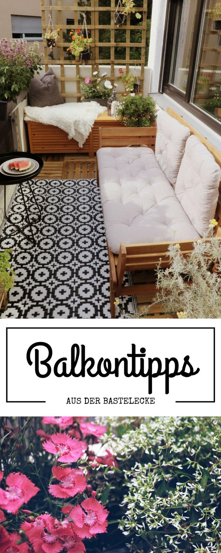 the 25+ best balkon verschönern ideas on pinterest | terrasse, Gartengerate ideen