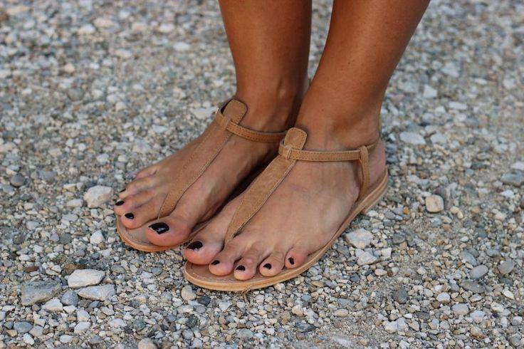Sandales Camel – Les Tropéziennes
