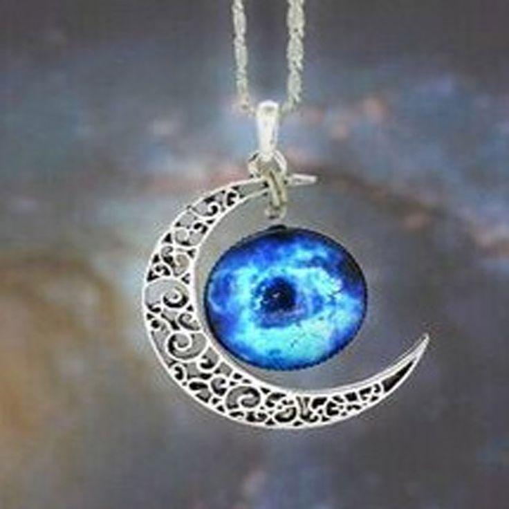 Accesorios de moda Nueva joyería Bohemia luna colgante de collar de regalo para mujer mayor de la muchacha N1630