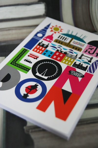 London notebook - two of my great loves in one place.