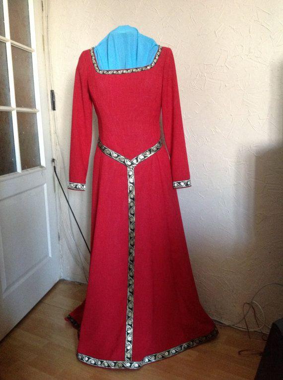 Fantasy medieval larp dress