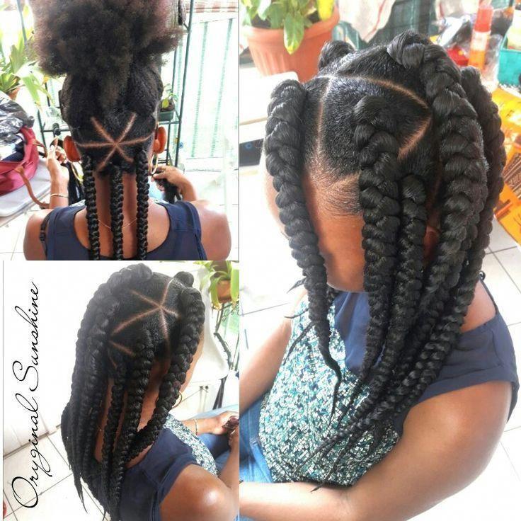African Hair Braiding : Braiding hairstyles African American #KidsHair