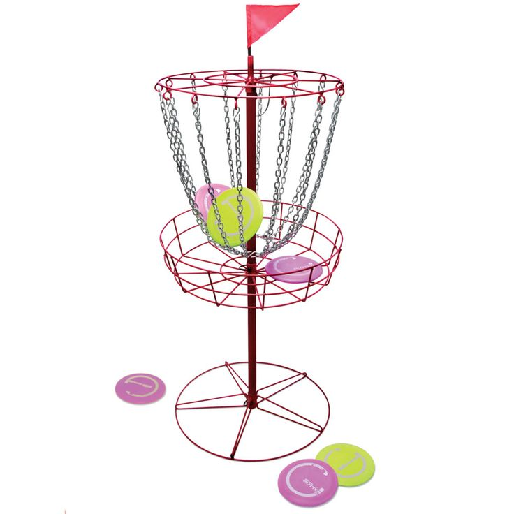 This disc golf set is designed to meet the exacting standards determined by the Professional Disc Golf Association.