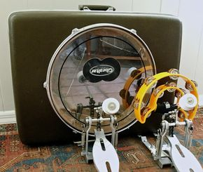 Suitcase Kick Drum by Bridgman Brothers Co.