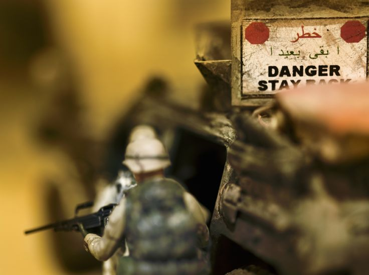 War Is Hell -- Even in Miniature - DAVID LEVINTHAL