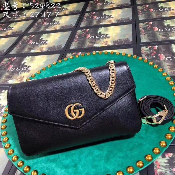 82686448d Gucci 524822-6 Python medium double shoulder bag | Gucci Shoulder ...