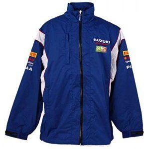 SUZUKI SWIFT Sport Tasse Britannique Rally Team Motorsport Homme Bleu Veste imperméable pour femme Bleu Bleu xx-large