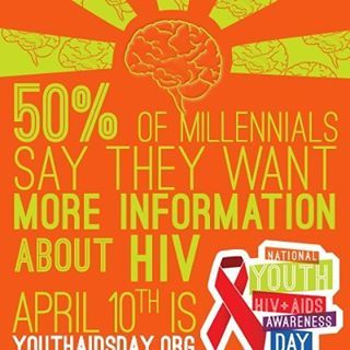 This National Youth HIV & AIDS Awareness Day we observe the impact of #HIV on our youth. #AIDS #NYHAAD #Statistic #Infographic #Information