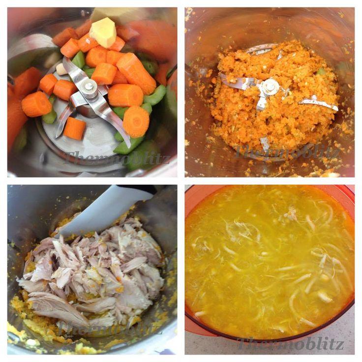 Thermoblitz Chicken & Corn Noodle Soup