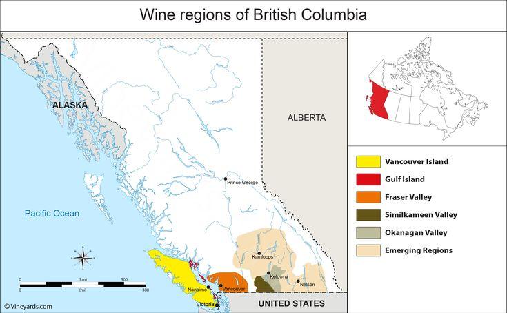 Wine Regions in British Columbia