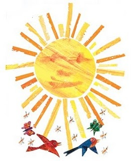 From Eric Carle's Blog: http://ericcarleblog.blogspot.com/2011/05/happy-spring-and-summer-to-all.html