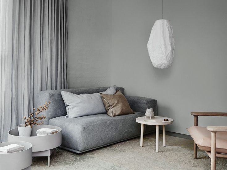 Dulux 2018 Forecast Essential Grey Loungeroom