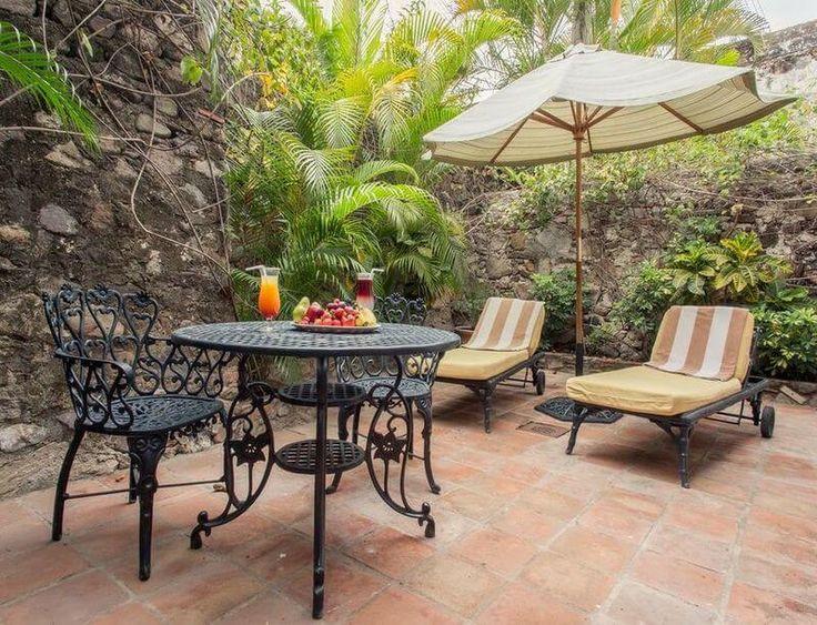terraza privada desayuno hotel hacienda san gabriel morelos