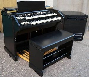 leslie speakers | ... about BEAUTIFUL EBONY HAMMOND CV ORGAN + DUAL SPEED LESLIE SPEAKER