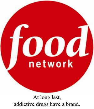 Conquer all nearby restaurants, diners, etc that were on the food network.