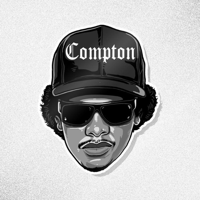 Pin By Nooratauschi On Hip Hop Straight Outta Compton Hip Hop Art Caricature