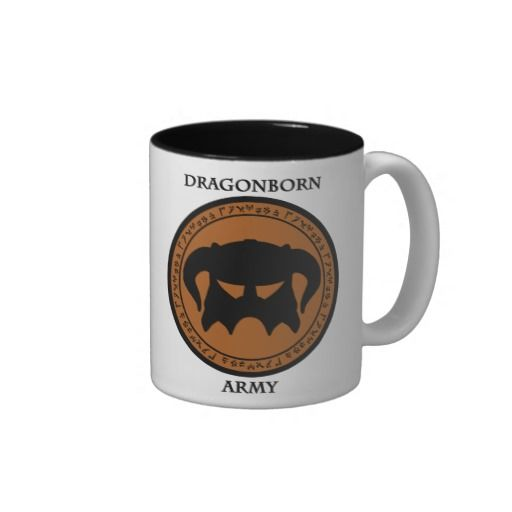 Dragonborn Army Two-Tone Mug