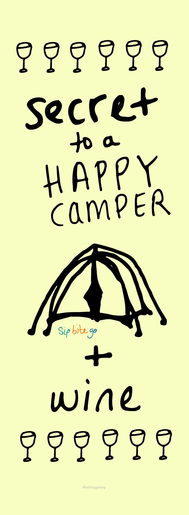Cheerful Funny Wine Camping Quotes Gift Ideas For People Who Love And