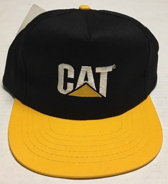 2a17dabdf25 Caterpillar Hat CAT Equipment Baseball Cap Norscot Group Promo Peoria  Illinois